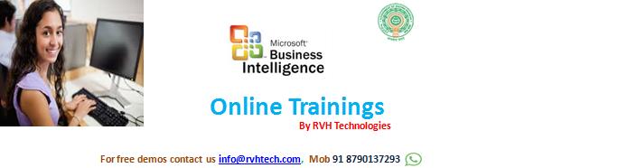 msbi online training course content