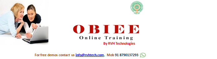 OBIEE online training from india/Hyderabad for Less/Low