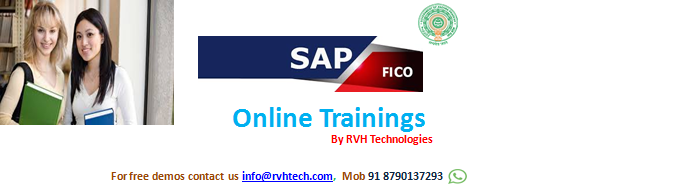 SAP FICO online training from india/Hyderabad for Less/Low Price